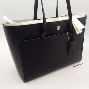 NEW Tory Burch Large Saffiano Leather Tote